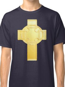 Celtic Cross, Golden Classic T-Shirt