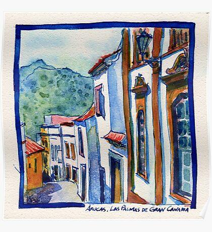Arucas, Las Palmas de Gran Canaria Poster
