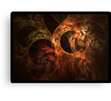 """Meandering Thoughts"" - Fractal Art Canvas Print"