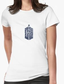 Doctor Who - Logo #2 Womens Fitted T-Shirt