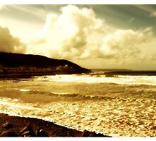 Westward Ho greeting card. by milesphotos