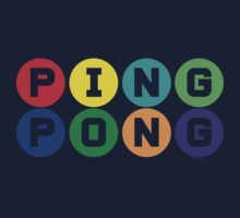 Ping Pong - primary colors One Piece - Long Sleeve