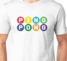 Ping Pong - primary colors Unisex T-Shirt