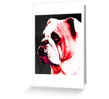 Southern Dawg By Sharon Cummings Greeting Card