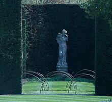 Statue, Sissinghurst by Portia Greenwood