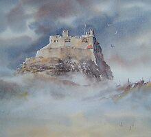 Lindisfarne Castle, Northumberland, England by JoeHush