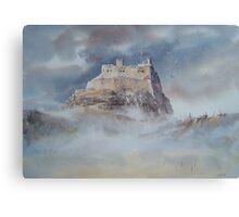 Lindisfarne Castle, Northumberland, England Canvas Print