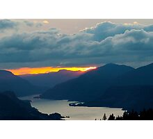 Firelight in the Gorge Photographic Print