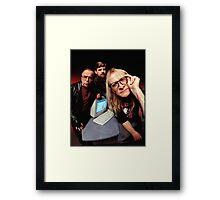 The Lone Gunmen Framed Print