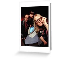 The Lone Gunmen Greeting Card