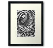 Spirals (1998) Framed Print