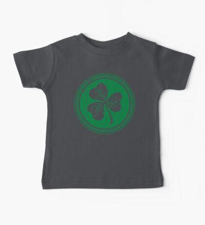 Clover & Braid - dark green Baby Tee