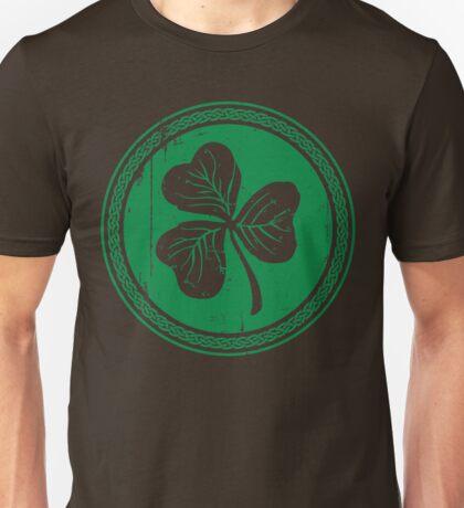 Clover & Braid - dark green Unisex T-Shirt