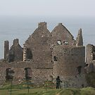 Dunluce Castle by Alan McNeice