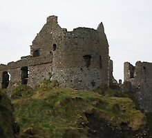 dunluce castle from the bottom of the cliff by Alan McNeice