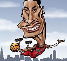 Derrick Rose by Tomajestic