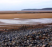 The Beach at Northam Burrows, Devon by Andrew  Bailey