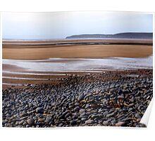 The Beach at Northam Burrows, Devon Poster