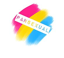 Pansexual Stripes Photographic Print