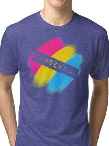 Pansexual Stripes Tri-blend T-Shirt