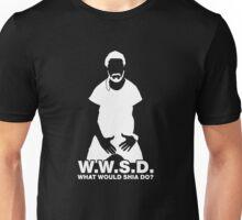 What Would Shia LaBeouf Do? WHITE Unisex T-Shirt