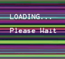 Loading, please wait Sticker