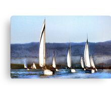 Together We Sail Canvas Print