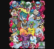 Evil Clowns All Over T-Shirt Unisex T-Shirt