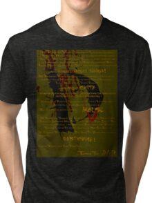 The Tragedy of Mr Dandigdival Vergler (Moss) Tri-blend T-Shirt