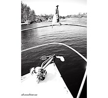 Boat Bow Upper Lough Erne Photographic Print