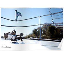 Boat Bow - Upper Lough Erne Poster