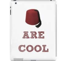 Doctor Who - Fezzes are cool #1 iPad Case/Skin