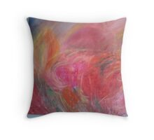 Love is on fire Throw Pillow
