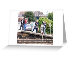 Who's Looking the wrong way? Greeting Card