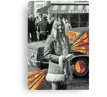 Band Aid Ride Along Canvas Print