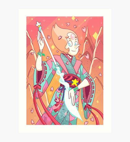 Steven Universe - Pearl-sensei Art Print