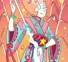 Steven Universe - Pearl-sensei by vbatignole