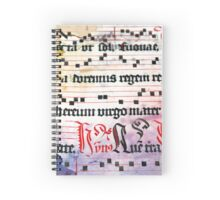 Choral Book Middle Ages - Music Vintage Art Prints Grunge Texture Spiral Notebook