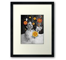 Jeanne's Bubble Bath Dreams Framed Print