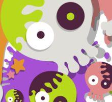 Splatfest Team Rock v.1 Sticker