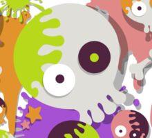 Splatfest Team Rock v.2 Sticker