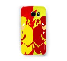 Reverse Flash VS Flash Minimalist Samsung Galaxy Case/Skin
