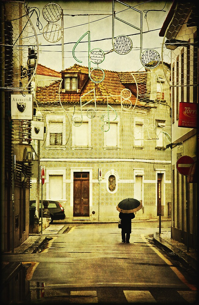 Walking in Aveiro by Ursula Rodgers