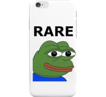 Ultra RARE pepe iPhone Case/Skin