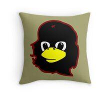 Linux tux Penguin Che guevara guerilla Throw Pillow