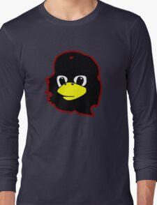 Linux tux Penguin Che guevara guerilla Long Sleeve T-Shirt