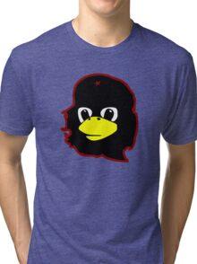 Linux tux Penguin Che guevara guerilla Tri-blend T-Shirt
