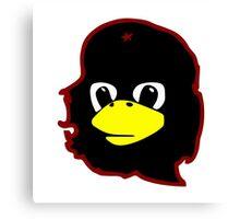 Linux tux Penguin Che guevara guerilla Canvas Print