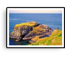 Spectacular glimpse of Carrick Island Canvas Print