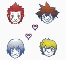 Kingdom Hearts Shuffle- Group 1 by LunaCalamity